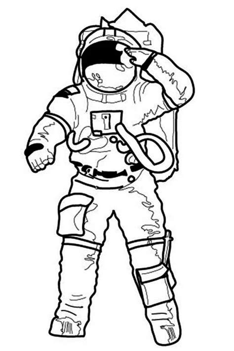 astronaut hat coloring page astronaut pictures for kids cliparts co