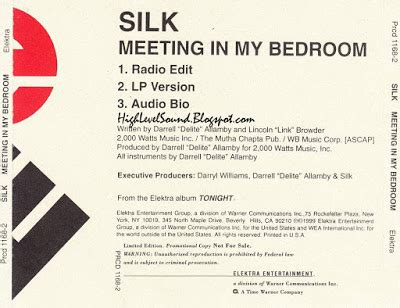 meeting in my bedroom silk highest level of music silk meeting in my bedroom