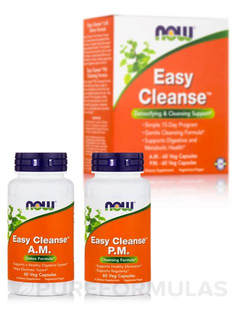 And Easy Detox Cleanse by Easy Cleanse 120 Vegetarian Capsules