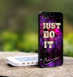 Lmint Nike Just Do It On Carbon Iphone Dan Semua Hp nike just do it glitter mint for iphone 4 4s black cover