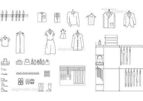 Photos Of Home Interiors wardrobe 1 dwg free cad blocks download