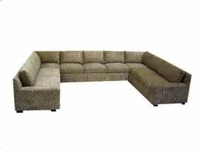 U Shaped Sofa by Furniture Cheetah U Shape Large Sectional Sofa For