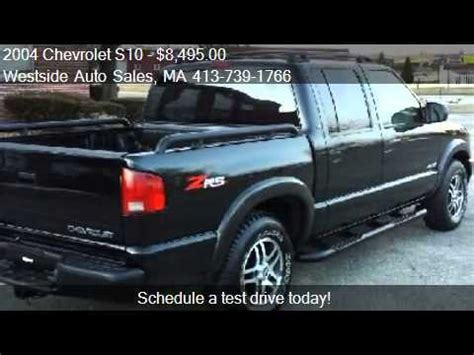 car repair manual download 2004 chevrolet s10 free book repair manuals 2004 chevrolet s10 crew cab 4wd zr5 for sale in west sprin youtube