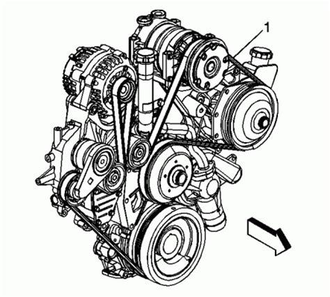 6.6l diesel belt routing diagam
