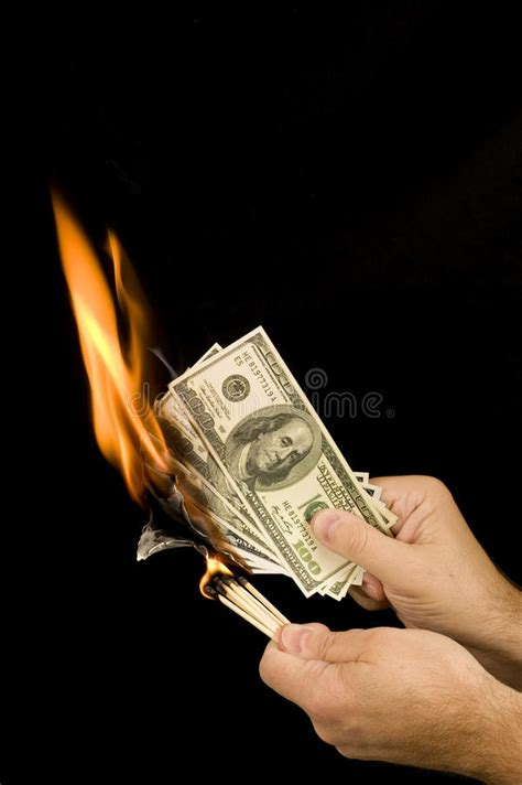 burning money stock photo image of number market medium