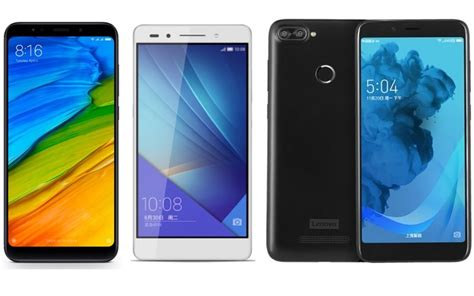 Lenovo S5 redmi note 5 vs honor 7c vs lenovo s5 price in india specifications and features comparison