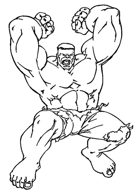 hulk fighting coloring pages coloring hulk in anger picture