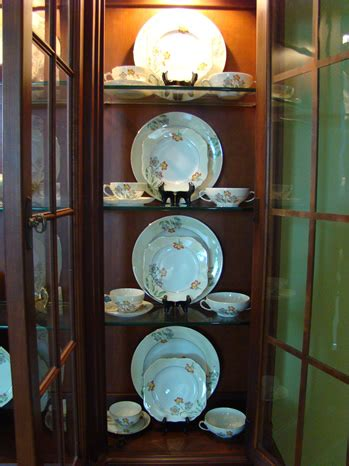 how to display china in a cabinet the of accessorizing a china cabinet matt and shari