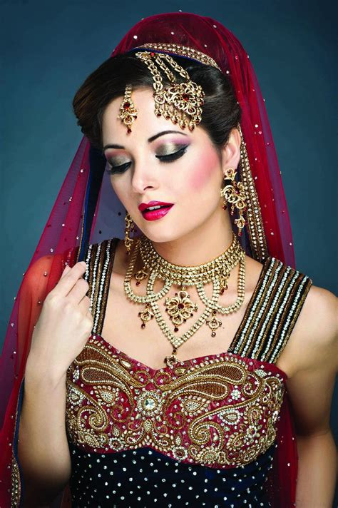 All Bridal Pics by Inspiring Indian Bridal Makeup Tutorial Step By Step Guide