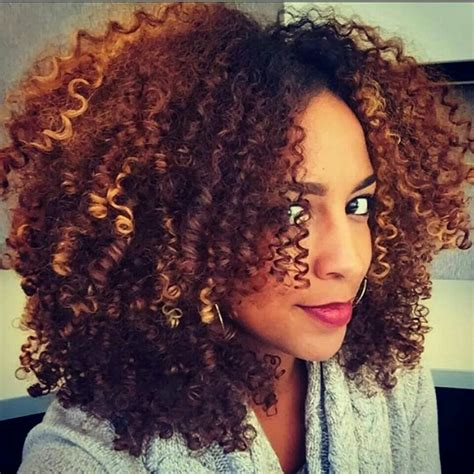 2 toned colored natural afirican american styles ombre natural hair 2018 wavy curly african american hair