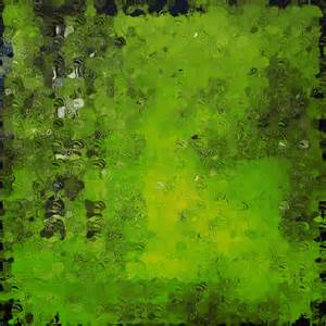 abstract painting print green painting by andrada anghel