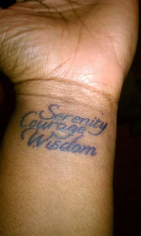 serenity prayer wrist tattoo best 25 serenity prayer ideas on