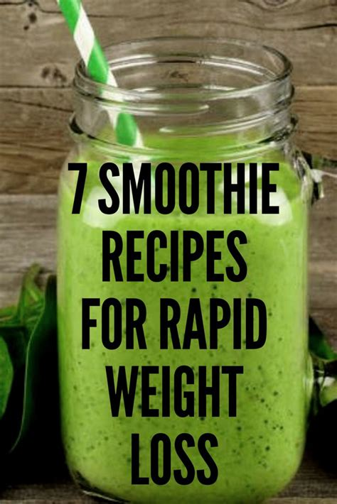 7 Smoothie Recipes by 7 Smoothie Recipes For Rapid Weight Loss Low Carb