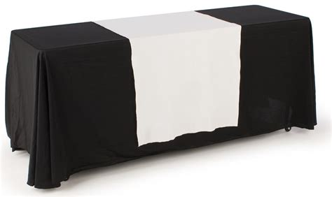 Drape Table plain table drape unprinted 30 quot white
