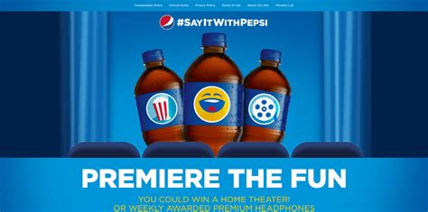 We Tv Sweepstakes - premiere the fun with this pepsi sweepstakes