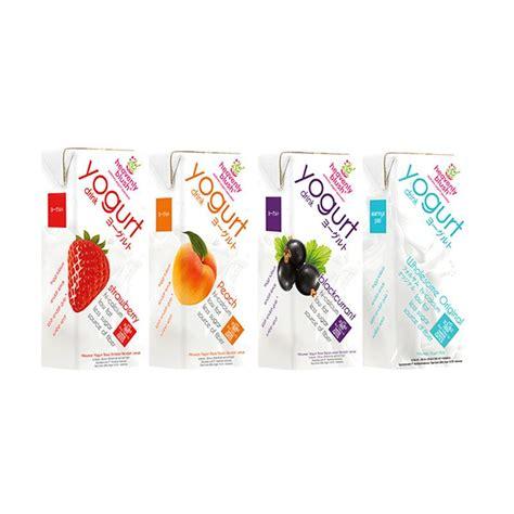 jual heavenly blush yogurt drink to go all variant 200 ml 4 pcs harga kualitas