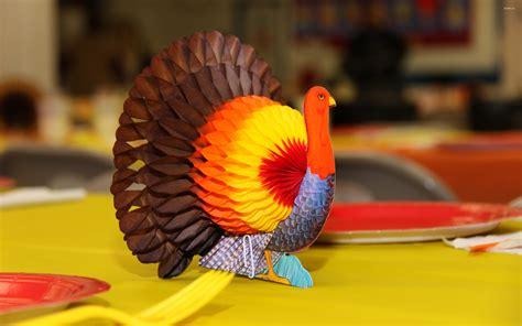 Paper Turkeys - thanksgiving paper turkey wallpaper wallpapers