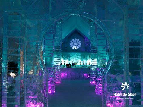 hotel de glace quebec city s ice hotel