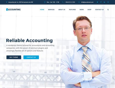 10 best wordpress themes for accountants 2016 athemes
