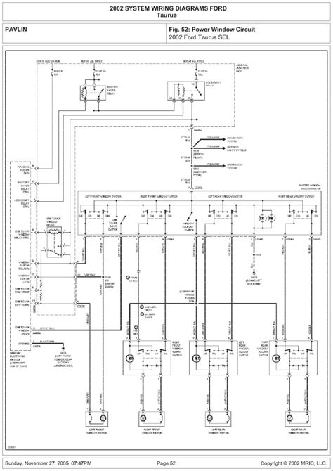 1999 ford taurus wiring diagram 31 wiring diagram images