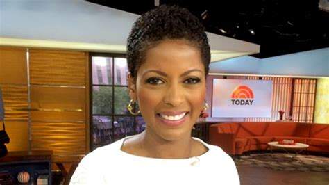 today show hair tamron hall wears her natural hair for the first time on