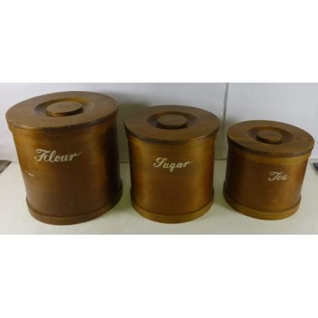 kitchen canister sets australia kitchen canister set of 3 in solid dark timber treats and treasures