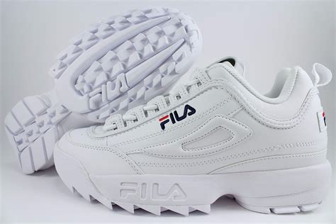 Sepatu Fila Disruptor 2 Original fila disruptor ii 2 white peacoat blue cross