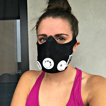 samantha lefave what it s like to wear an altitude training mask while you work out shape magazine