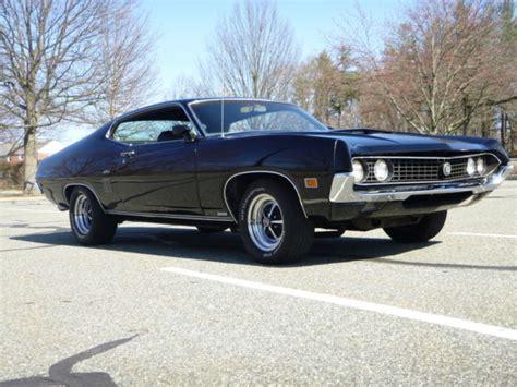 seller of classic cars 1970 ford torino black black