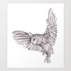 flying owl pencil drawing that ll come in handy pinterest