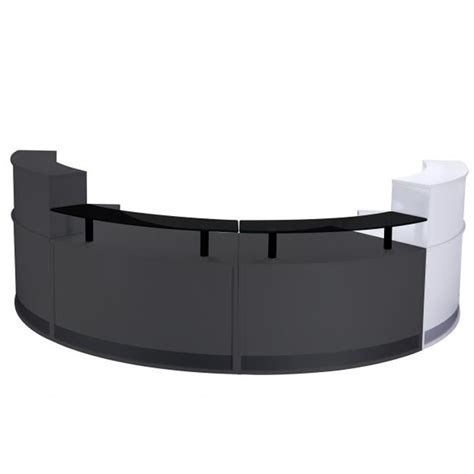 New Reception Desk New Modular Reception Desk In Choice Of Finishes Curved Reception Desk Reception Counter