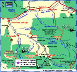aspen river valley area maps colorado vacation