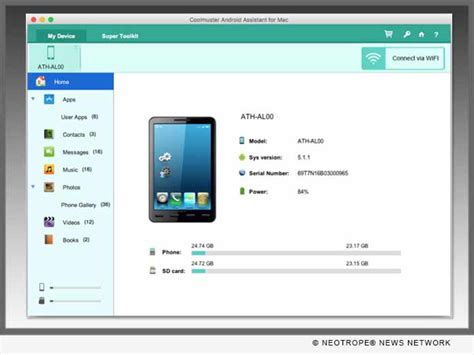 connecting android to mac coolmuster android assistant for mac 3 0 released allows users to connect android to mac