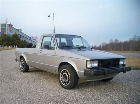 volkswagen tdi truck 1981 vw rabbit diesel pickup truck this thing got about 50