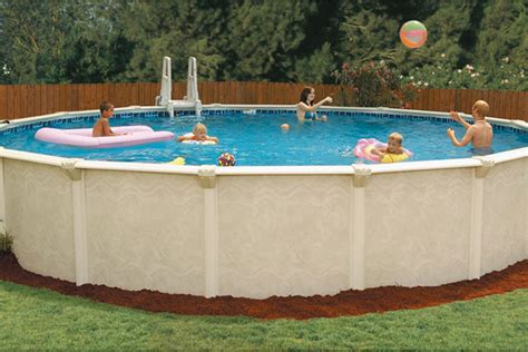 Century Silver 9ft Pool Sterling By Embassy Pools Above Ground Pools For Sale In Ct