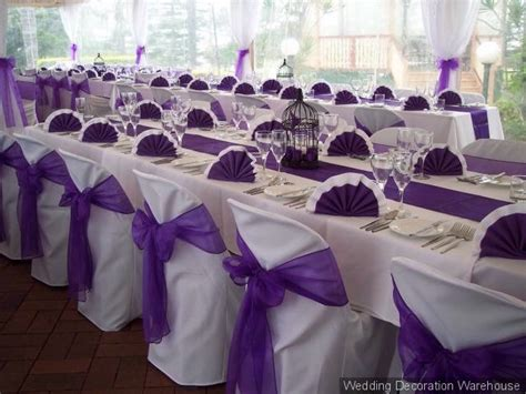 Reception Table Decorations by Purple Wedding Decoration For Table Receptionwedwebtalks