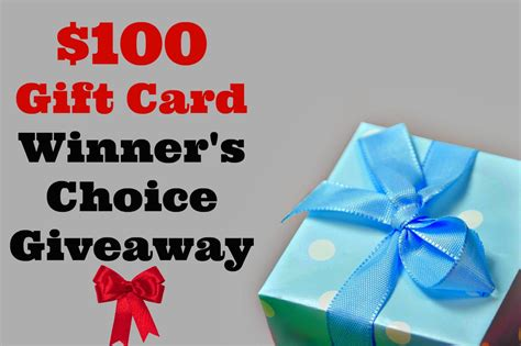 Gift Card Giveaway - 100 gift card giveaway the joy of the home