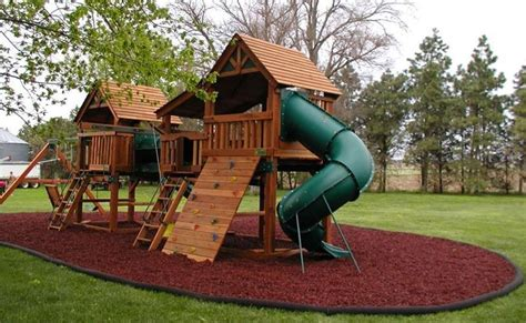 residential rubber mulch safety surfacing kids world play ohio