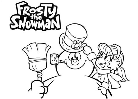 27 Best Frosty The Snowman Images On Pinterest Snowman Adult Coloring And Coloring Sheets Free Printable Frosty Snowman Coloring Pages