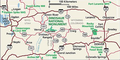 map of national parks in colorado directions dinosaur national monument u s national