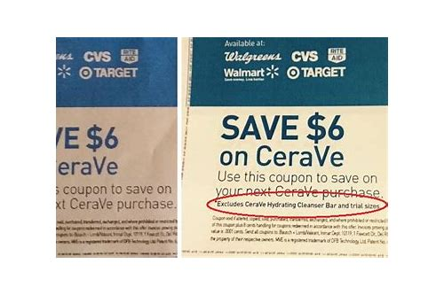 cerave coupons december 2018