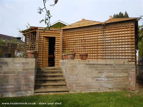 Sheds In Shrewsbury by Woodhenge Pub Entertainment From A Garden In Shrewsbury