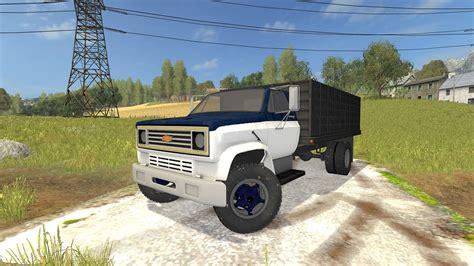 c70 truck chevy c70 graint truck 187 gamesmods net fs17 cnc fs15