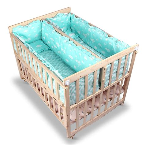 baby beds for twins popular twin cribs buy cheap twin cribs lots from china