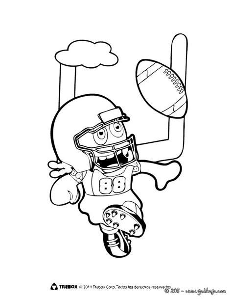 imagenes de niños jugando futbol americano dibujos para colorear boomonster jugando f 250 tbol americano