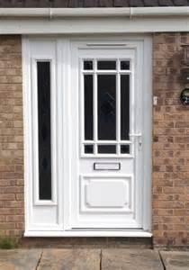 Glass For Front Door Panel Exterior Side Doors With Glass Upvc Door With Glazed Side Panel To Spacious Entrance