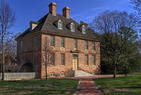 President's House College Of William And Mary Photograph