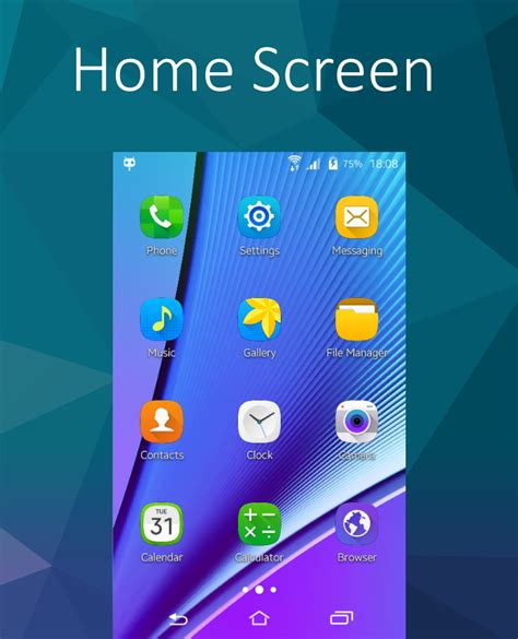 samsung galaxy s5 lock screen apk cm 12 1 touchwiz s6 theme 1 4 apk android personalization apps