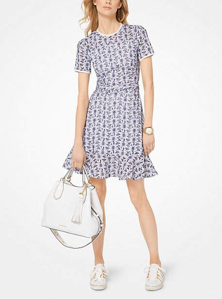 Mischa Bartons Eyelet Dress At Keds For Lord by Michael Kors Embroidered Eyelet Dress Shopstyle