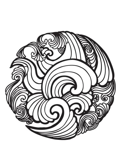 best 25 wave drawing ideas on pinterest wave